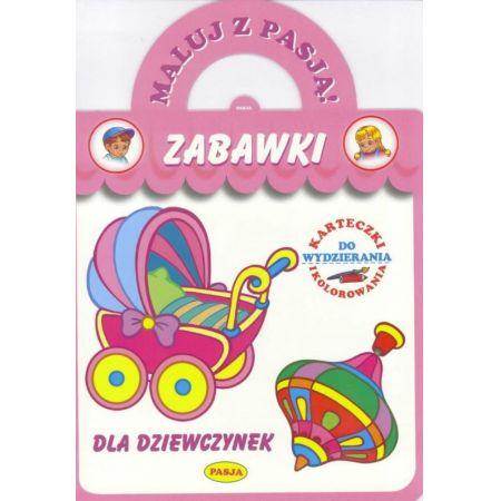Zabawki dla dziewczynek maluj z pasją