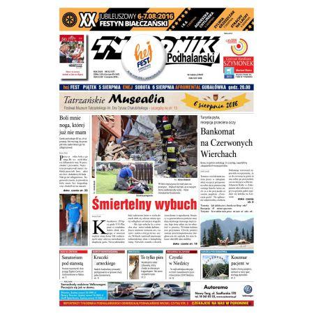 Tygodnik Podhalański 31/2016