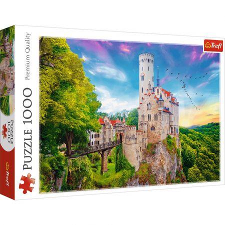 Puzzle 1000 Zamek Lichtenstein, Niemcy TREFL