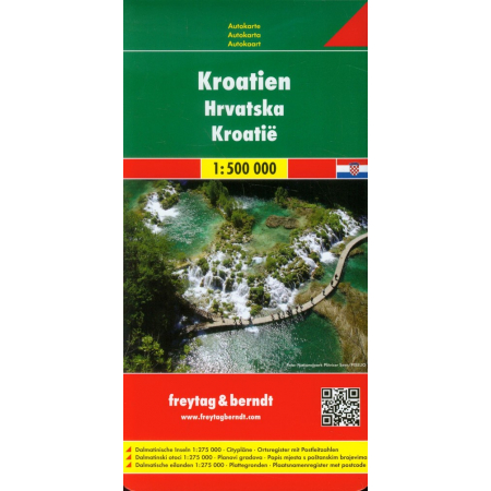 Mapa samochodowa - Chorwacja 1:500 000