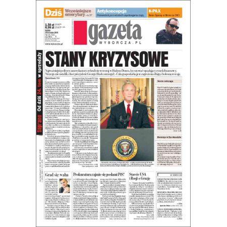Gazeta Wyborcza - Płock 226/2008