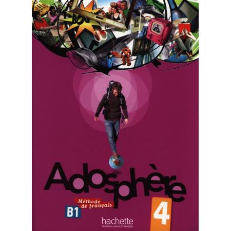 Adosphere 4 podręcznik+CD HACHETTE