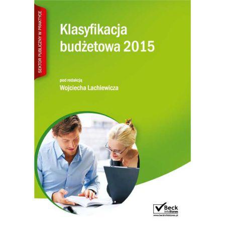 Klasyfikacja budżetowa 2015