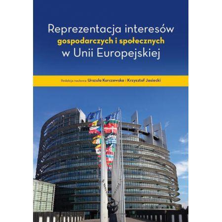 Reprezentacja interesów gospodarczych i społecznych w Unii Europejskiej