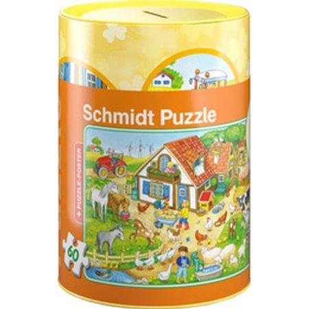 Puzzle 60 Skarbonka Na farmie