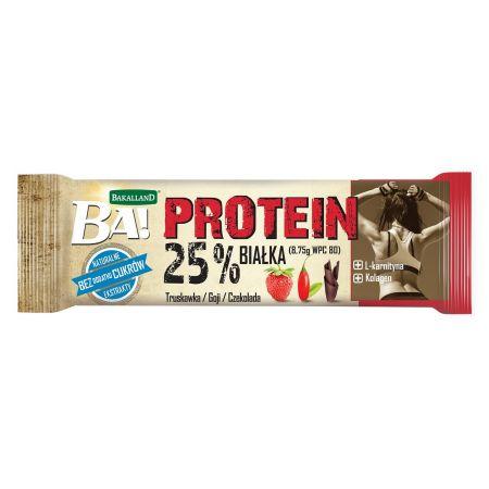 Ba! Baton Proteinowy Truskawka i Goji