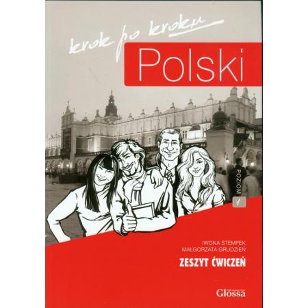 Polski krok po kroku. Zeszyt ćwiczeń A1 + CD