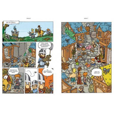 Komiksy paragrafowe. Rycerze. Dziennik bohatera