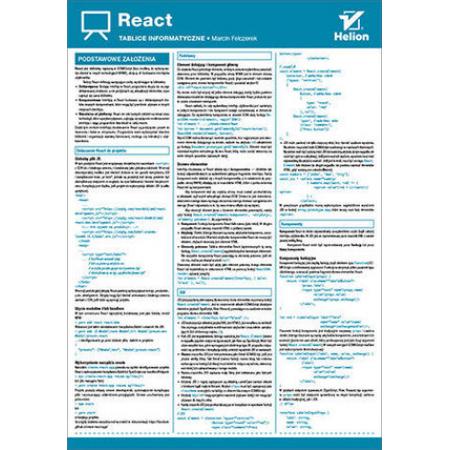 Tablice informatyczne. React
