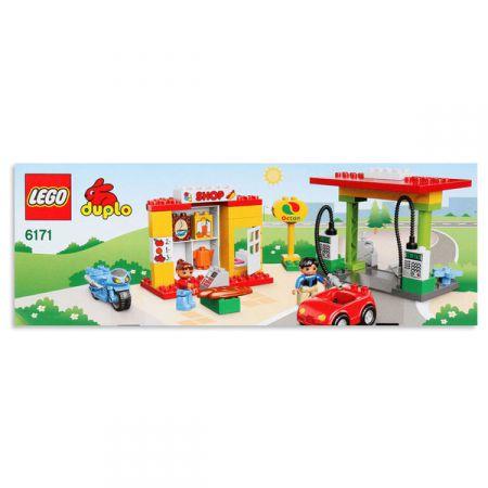 Lego Duplo Police 6171 Stacja Paliw Klocki W Taniaksiazkapl