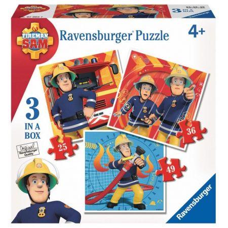 Puzzle 3w1 Strażak Sam