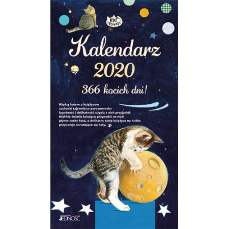 Kalendarz 2020 366 kocich dni