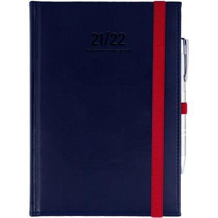 Kalendarz nauczyciela B6 2021/2022 dzienny granat.