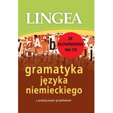 Gramatyka j. niem. praktycznymi przykł.+ słownik