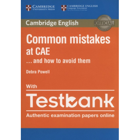 Common Mistakes at CAE with Testbank