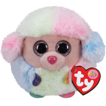 Maskotka TY PUFFIES Rainbow pudel 10cm 42511