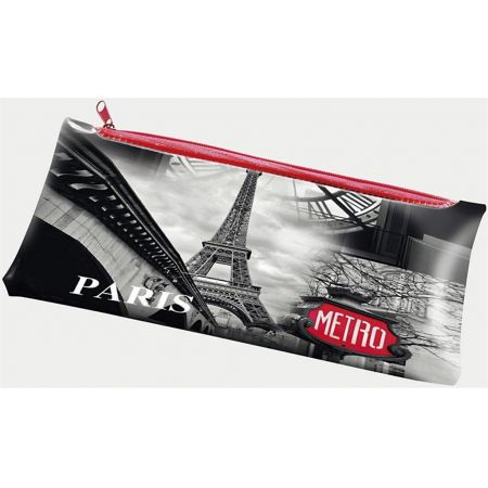 Piórnik PP z nadrukiem na suwak Paris