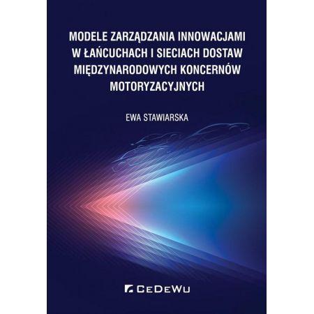 Modele zarządzania innowacjami w łańcuchach..