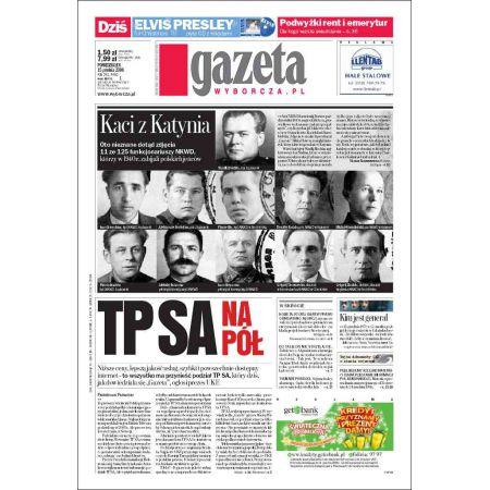 Gazeta Wyborcza - Płock 292/2008