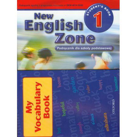 English Zone New 1 SB +vocab.book