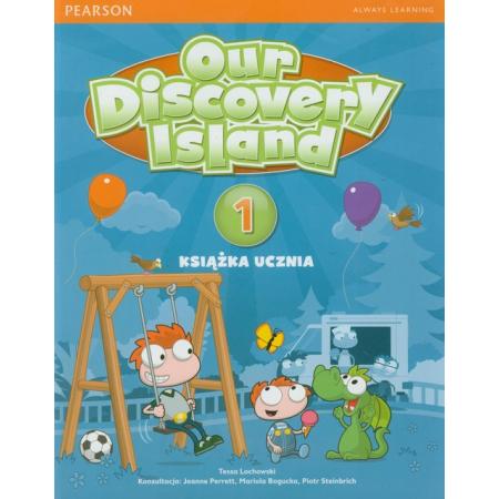 Our Discovery Island 1 SB +kod LONGMAN