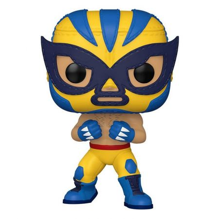 Funko POP Marvel: Luchadores - El Animal Indestructible (Wolverine)