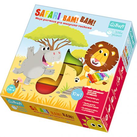 Gra Little Planet - Safari Bam! Bam! 01383 Trefl
