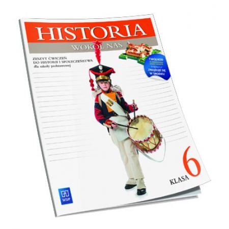 Historia SP Wokół nas 6 ćw. wyd.2014 WSIP