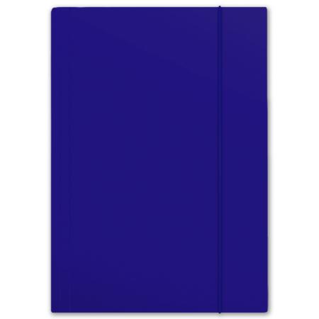 Teczka z gumką A4 Plus Top niebieska PENMATE