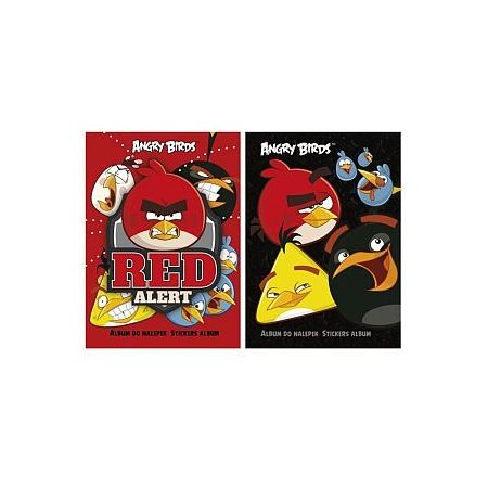 Album do naklejek Angry Birds