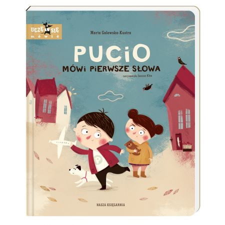 Pucio mówi pierwsze słowa. Uczę się mówić