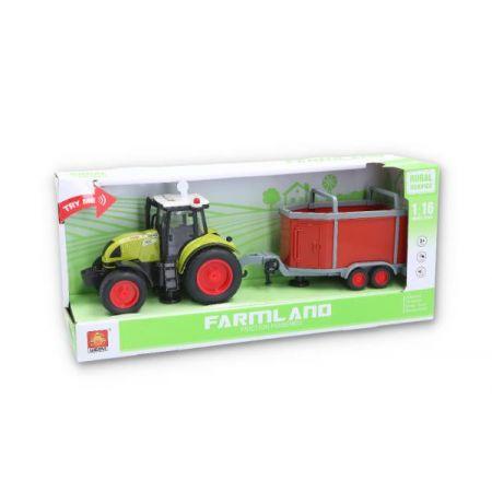 Traktor z przyczepą światło, dźwięk 109716