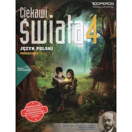 J.Polski SP 4/2 Ciekawi świata Podr. OPERON
