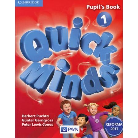 Quick Minds 1. Reforma 2017. Pupil's Book. Język angielski