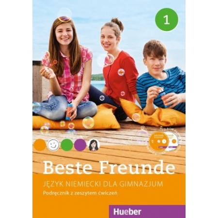 Beste Freunde 1. Język niemiecki. Podręcznik z zeszytem ćwiczeń. Gimnazjum