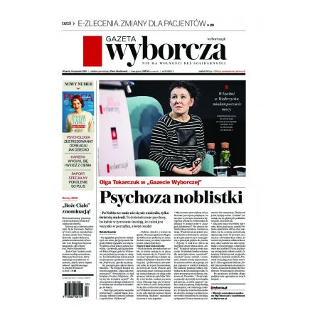 Gazeta Wyborcza - Poznań 10/2020