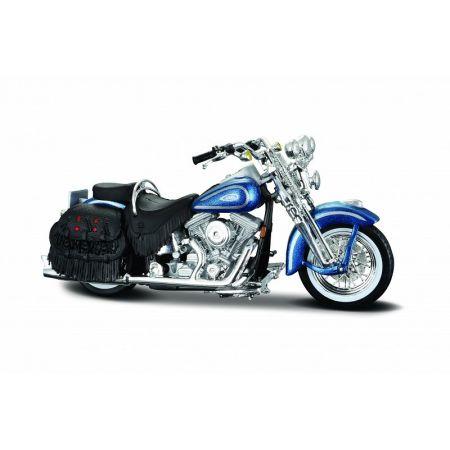 Motocykl 1999 flsts her. Soft. Spr. Skala 1:18 maisto 39360/77032