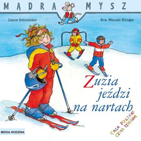 Mądra Mysz. Zuzia jeździ na nartach