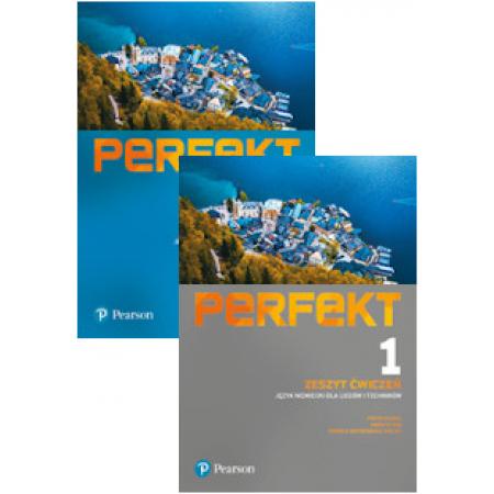 Zestaw Perfekt 1: Podręcznik i Zeszyt ćwiczeń do języka niemieckiego dla liceów i techników