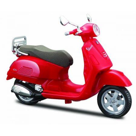 MI 39540-53 Scooters Vespa GTS 300 2017 czerwony 1:18