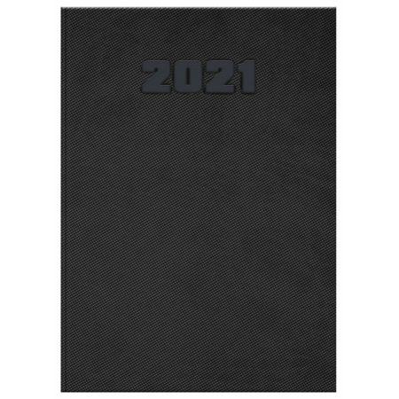 Kalendarz 2021 książkowy A5 Manager DTP czarny