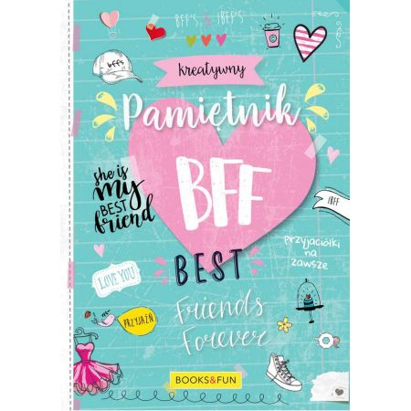 Kreatywny Pamiętnik Bff Best Friends Forever