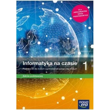 informatyka 1 zakres podstawowy podręcznik dla szkoły ponadpodstawowej