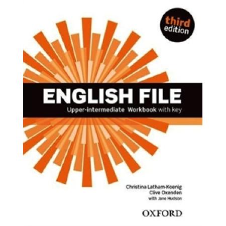 English File 3E Upper-Interm WB With Key OXFORD
