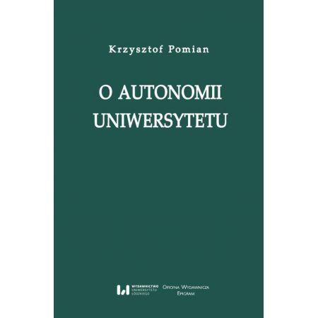O autonomii uniwersytetu