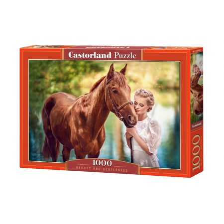 Puzzle 1000 Beauty and Gentleness CASTOR
