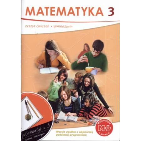 Matematyka z plusem 3 Zeszyt ćwiczeń  + CD