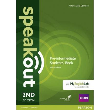 Speakout 2ed Pre-Intermediate SB+DVD+MyEngLab