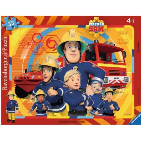 Strażak Sam. Puzzle 33 elementy 061143