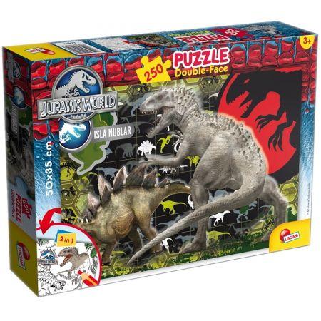 Puzzle dwustronne. Jurassic World. 250 elementów